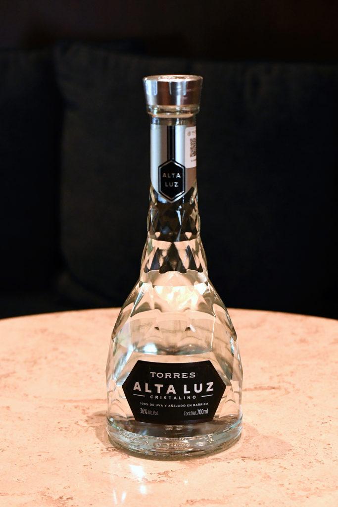 Torres Alta Luz, el primer brandy completamente cristalino
