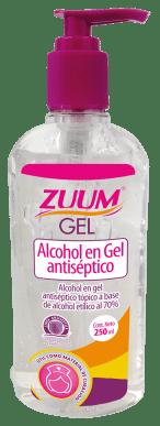 Desinfecta tus manos con Zuum, el gel antibacterial más puro - alcohol-en-gel-250-ml-zuum-1