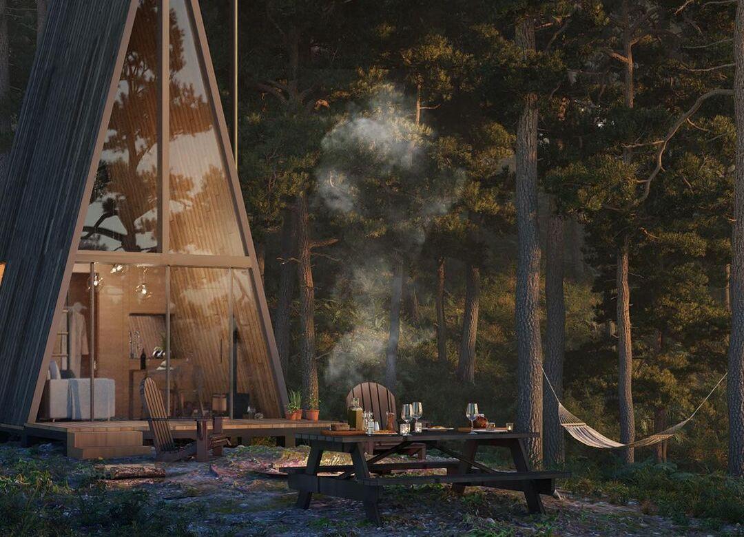 Wander Cabins, una experiencia remota en la naturaleza