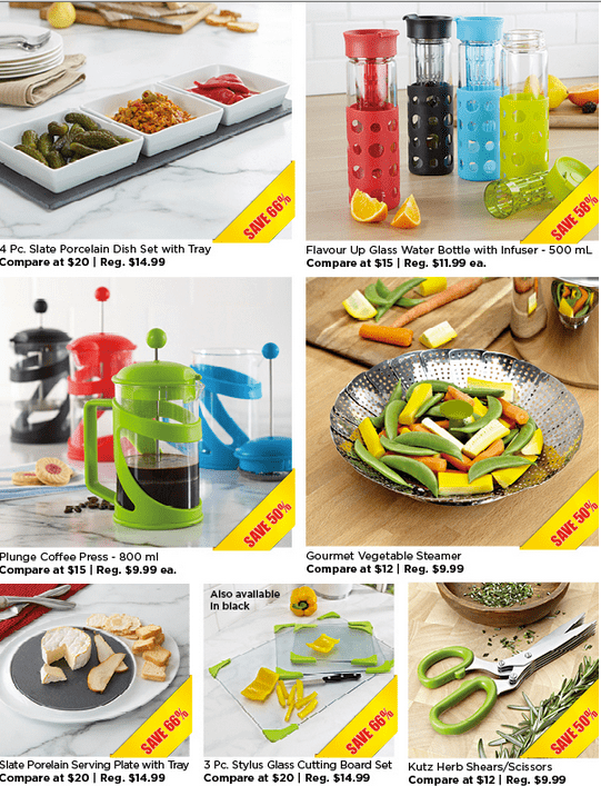 Kitchen Stuff Plus Canada Red Hot Deals Coupon