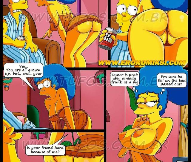 Simpsons Porn Cartoon Hot Cartoon Blog