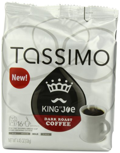 Tassimo King of Joe Dark Roast, 16-Count