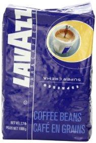Lavazza Super Crema Espresso Whole Bean Coffee, 2.2-Pound Bag