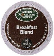Keurig, Green Mountain Coffee, Breakfast Blend, K-Cup packs, 72 Count
