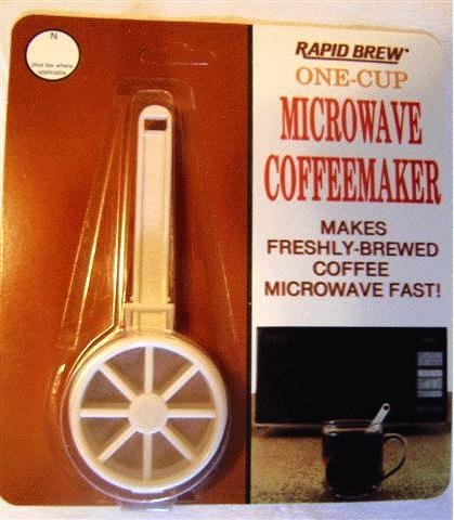 Perma-Brew One Cup Microwave Coffeemaker