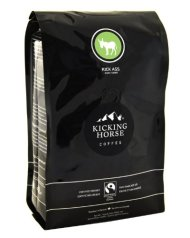Kicking Horse Coffee Kick Ass Dark, Whole Bean Coffee, 2.2-Pound Pouch