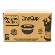 The Organic Coffee Co. OneCup, Decaf Gorilla, 36 Single Serve Coffees