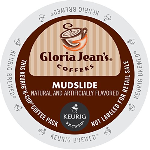 Gloria Jean's Coffees, Mudslide, K-Cup Portion Pack for Keurig Brewers 24-Count