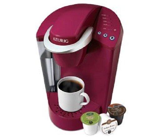 Keurig Elite K40 Single Serve Coffeemaker Brewing System, Red