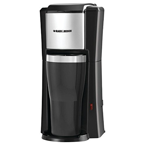 Black & Decker CM618 Single Serve Coffee Maker, Black