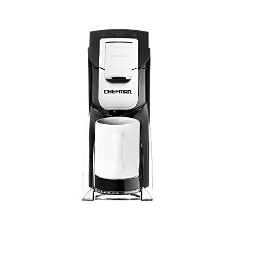 Chefman, My Barista Single Serve Coffee Maker, Black