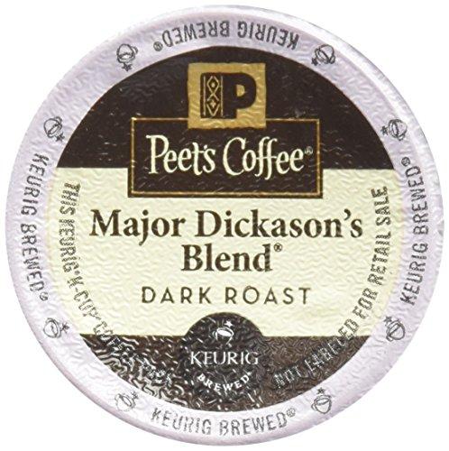32 Count – Peet's Coffee Major Dickason Blend Single Cup Coffee for Keurig K-Cup Brewers