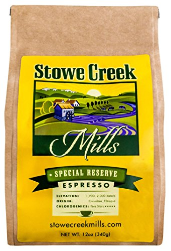 Stowe Creek Mills – Special Reserve Espresso – Whole Bean – 12oz