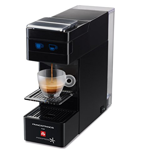 Francis Francis for Illy Y3 iperEspresso Coffee machine, Black