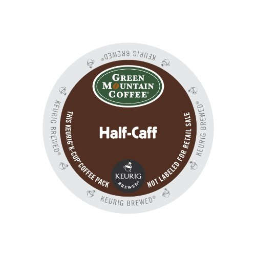 Green Mountain Coffee Half-Caff, Keurig K-Cups, 72 Count