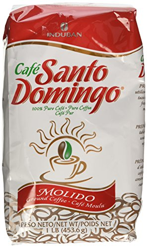 Cafe Molido Santo Domingo Coffee 1 Lb. Bags 4-pack 4 Lbs. Total