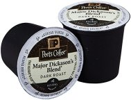Peet's Major Dickason's Blend for Keurig K-Cup Brewers, Deep Roast 60 count.