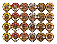 Crazy Cups Coffee Flavor Lovers Single Serve Cups Variety Pack Sampler for the KCupBrewer, 24 count