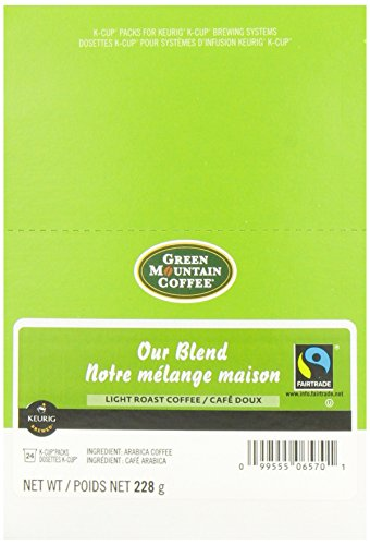 Green Mountain Coffee Our Blend,  K-Cup Portion Pack for Keurig K-Cup Brewers, Light Roast, 24-Count
