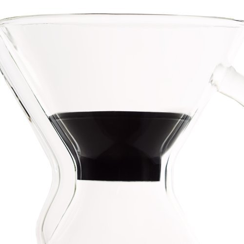 Able Brewing Black Heat Lid for Chemex Coffee Maker Fits 3, 6, 8 and 10 Cup Models