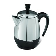 Farberware FCP240 2-4-Cup Percolator, Stainless Steel