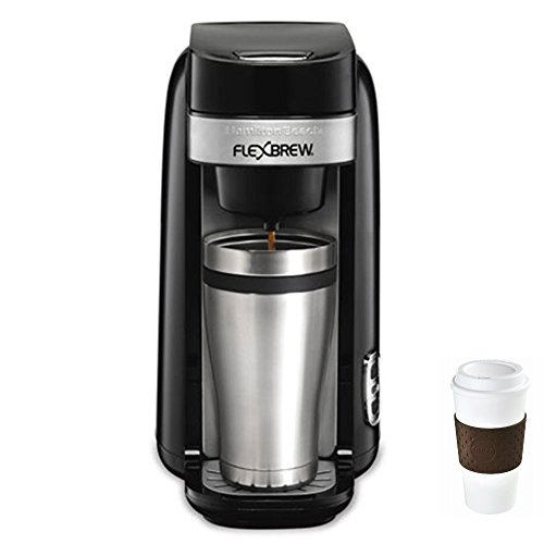 Hamilton Beach Single Serve Coffee Maker, Flexbrew – 49997R + Copco To Go Cup Bundle