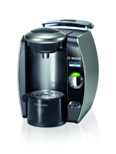 Tassimo by Bosch TAS6515UC Single Serve Coffee Brewer, Twilight Titanium – Amazon Vine