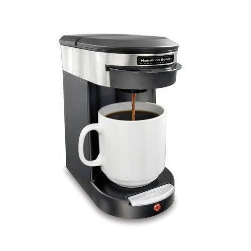 Hamilton Beach HDC200S Commercial 1 Cup Brewer – Stainless Steel