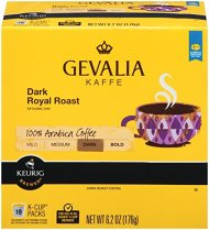 Gevalia Dark Royal Roast K-Cup  Packs – 18 count