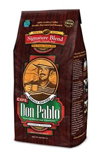 2LB Cafe Don Pablo Gourmet Coffee Signature Blend – Medium-Dark Roast Coffee – Whole Bean Coffee – 2 Pound ( 2 lb ) Bag