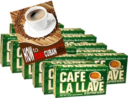 Cafe La Llave 12 packs of 10.0z each