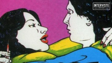 A detail of a poster of Love Toxic