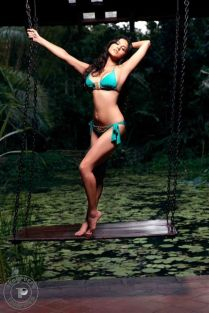Sexy-jewel-studded-aqua-green-bikini-set-by-Beach-Bunny-worn-by-Sunny-Leone