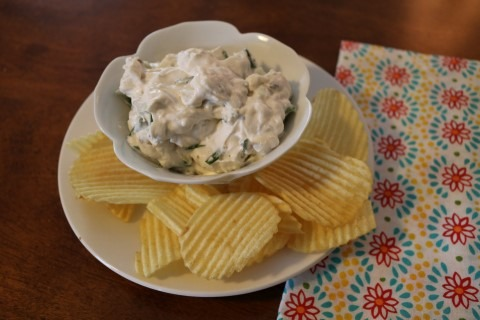 Chive Onion Chip Dip Recipe