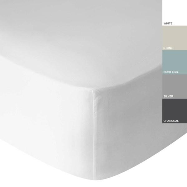 Sheraton 400TC Egyptian Cotton Fitted Sheet