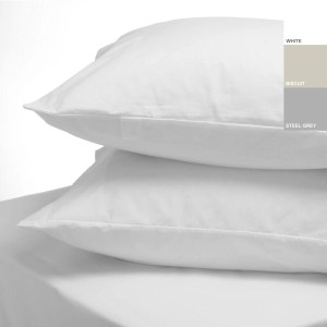 Sheraton 200TC Plain Pillowcase Pair