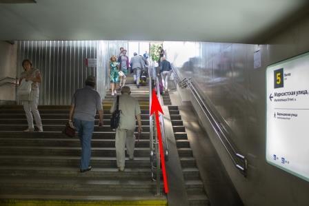 Дойти от метро Марксистская (с ул. Марксистская)