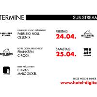 Sub.Stream Frankfurt - Termine in dieser Woche