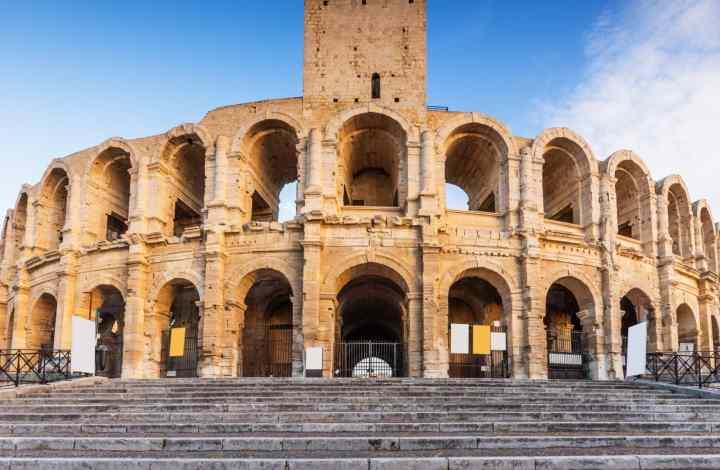 A l'époque des Romains en Arles