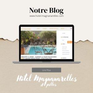 Visitez notre blog et nos actualités. Affiche.