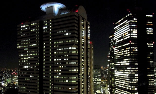 ヒルトン東京_夜景