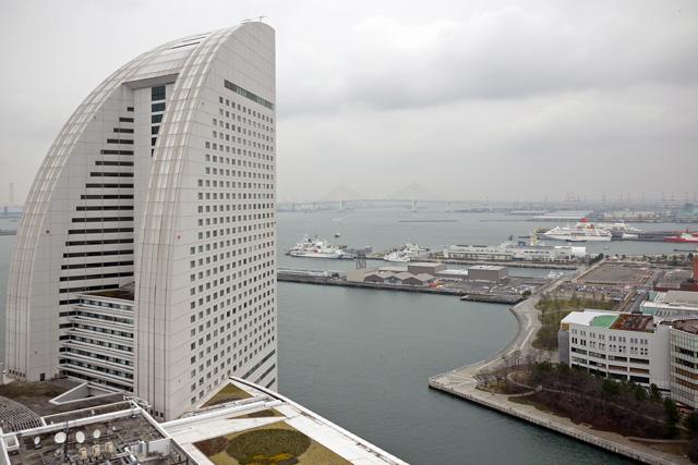 横浜ベイホテル東急_眺望