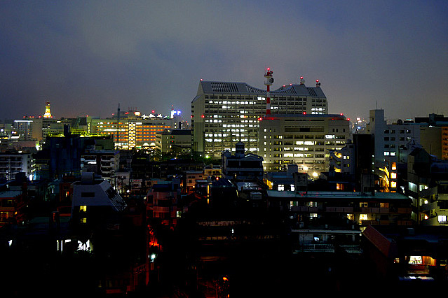 沖縄ハーバービュー_夜景