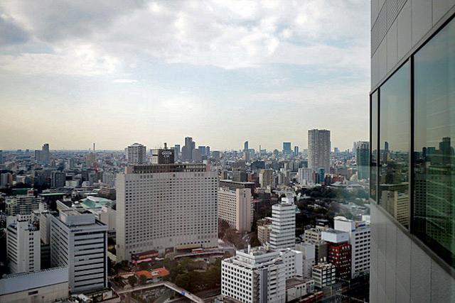 ストリングスホテル東京_眺望