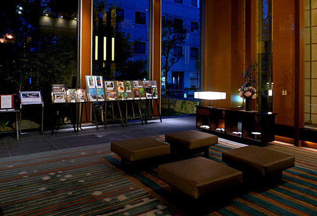 庭のホテル東京_ロビー
