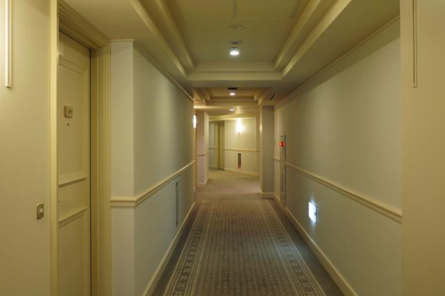 ヨコハマインターコン_廊下