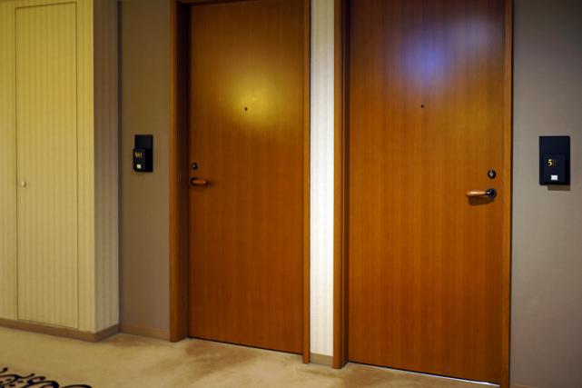 メトロポリタン盛岡_客室ドア