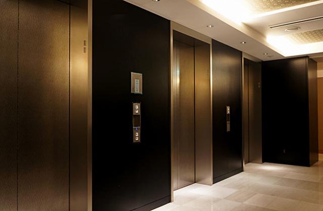 マンダリンオリエンタル東京_エレベーターホール