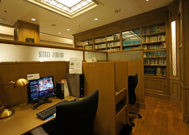 札幌グランドホテル_メモリアルライブラリー