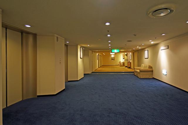 札幌グランドホテル_エレベーターホール